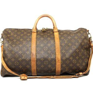 Auth Louis Vuitton Keepall Bandouliere #1026L23